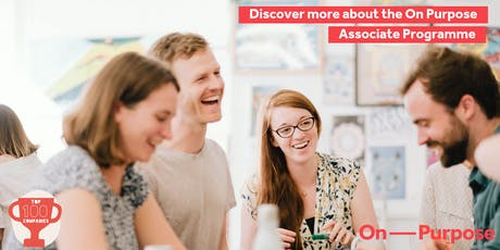 Discover more about the Associate Programme: Apply now  for April 2020 tickets