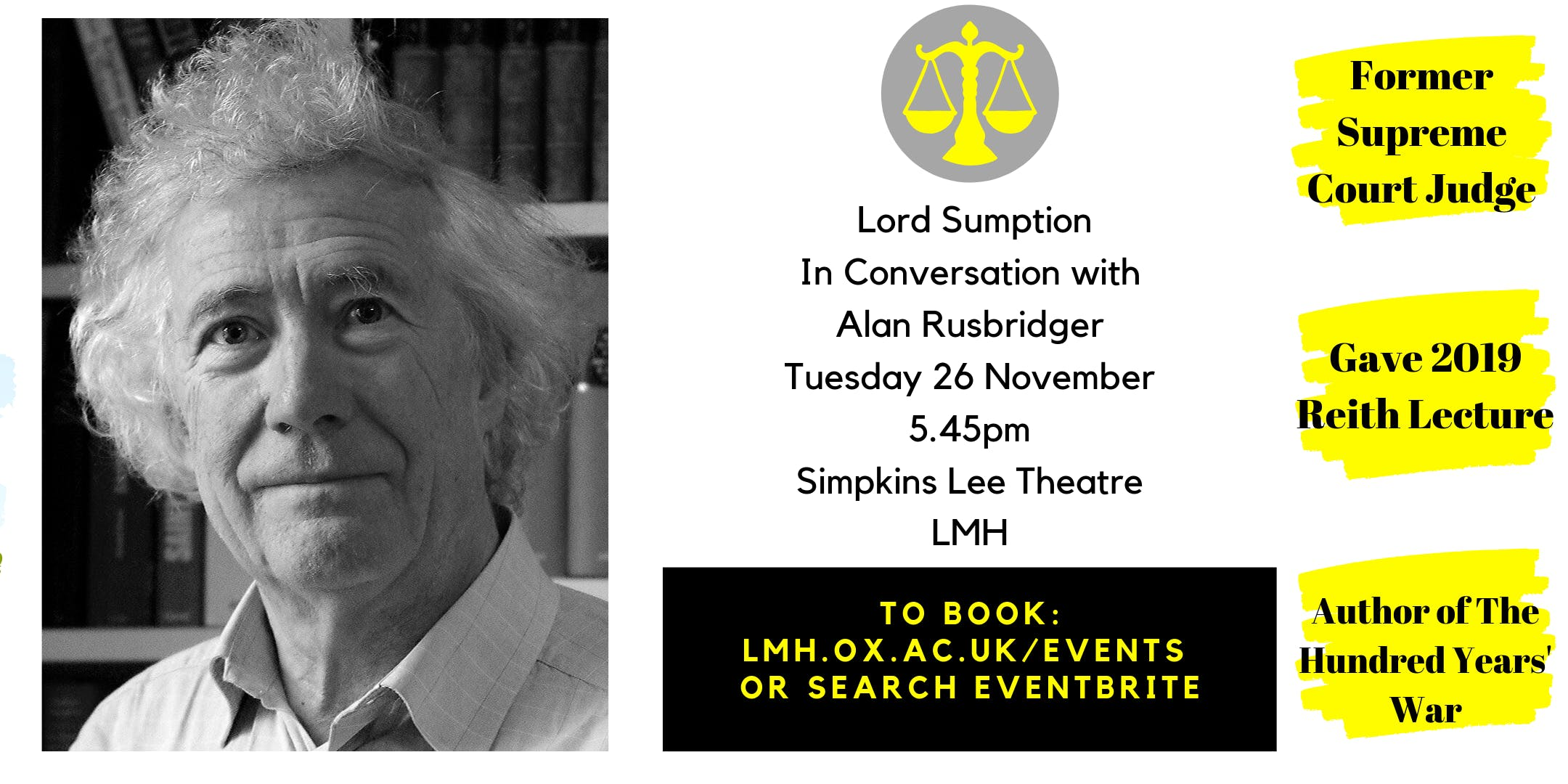 Lord Sumption In Conversation with Alan Rusbridger