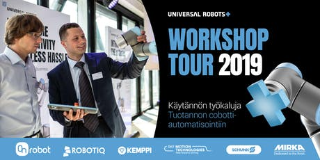 UR+ Workshop Tour 2019 Finland | Tampere tickets