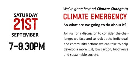 Conversation; A Climate Change Emergency has been declared, lets talk. tickets