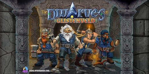 Nysko Games launch night - The Dwarves of Glistenveld