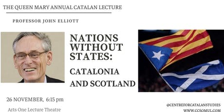 Nations without States: Catalonia and Scotland tickets
