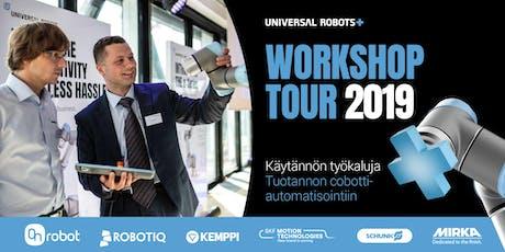 UR+ Workshop Tour 2019 Finland| Hämeenlinna tickets