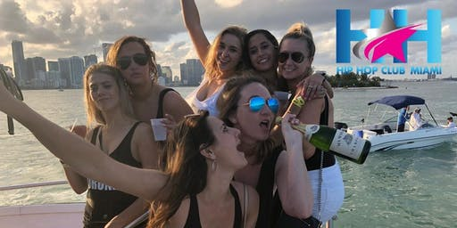 Miami Hip Hop Party Boat | Presented By Hip Hop Club