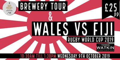 Wales v Fiji + Mini Brewery Tour