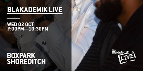 Blakademik Live @ BoxPark tickets
