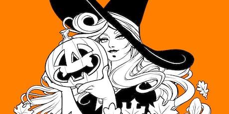 Halloween Happenings: Tarot Readings  (£25/30 mins) tickets