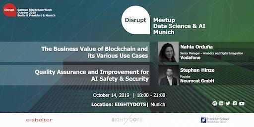 German Blockchain Week 2019 | AI in Blockchain and Quality Assurance