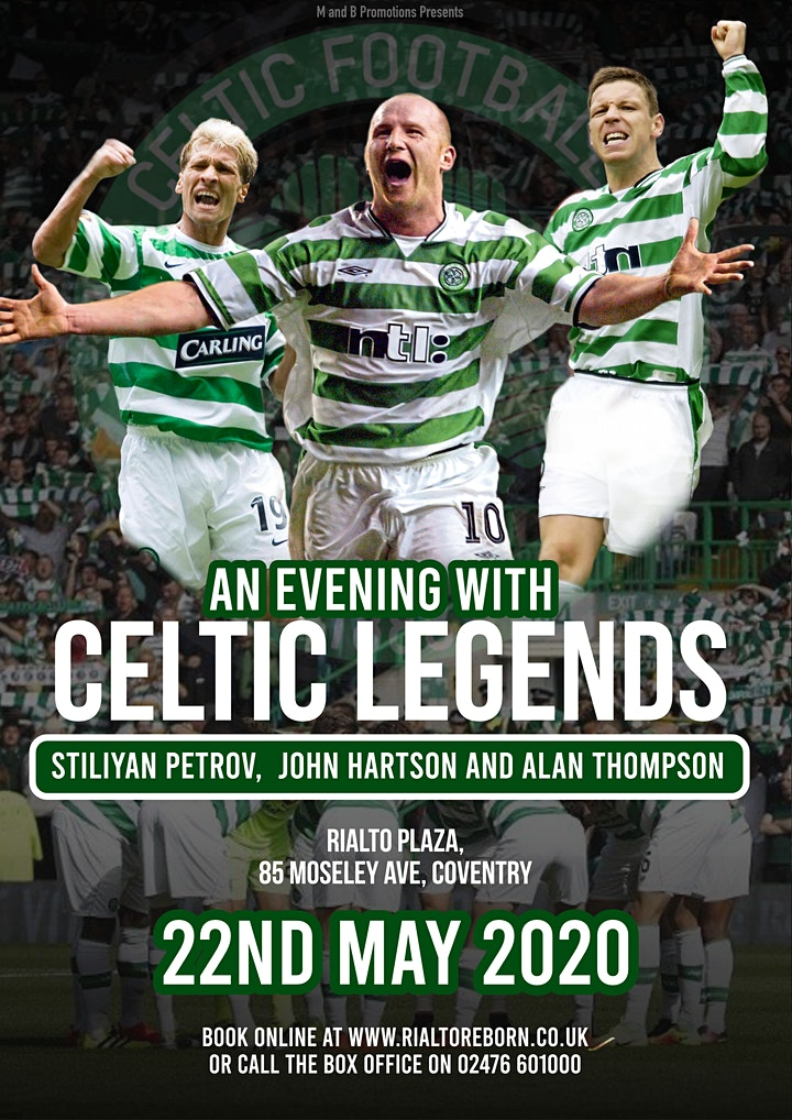 An Evening with Celtic Legends! - www.easyticketing.co.uk image