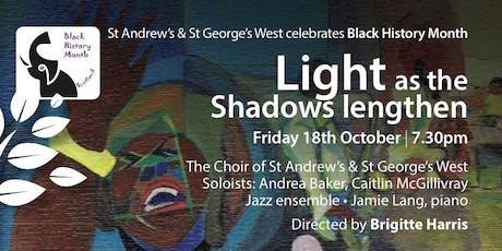 Light as the Shadows Lengthen tickets