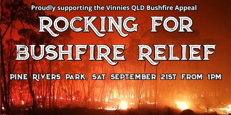 Rocking for Bushfire Relief tickets