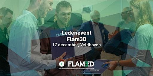Meeting, netwerking en matchmaking voor Flam3D-leden