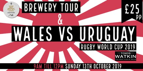Wales v Uruguay + Mini Brewery Tour tickets