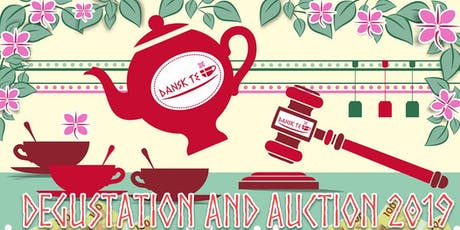 DANSK TE degustation and auction 2019 tickets