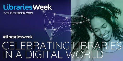 Libraries Week (Barrowford) #digiskills #librariesweek
