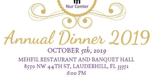 NUR CENTER's Annual Fundraiser