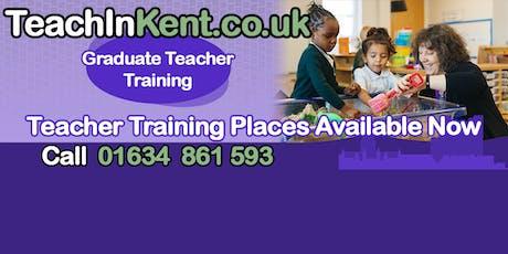 Teach in Kent Information Evening tickets