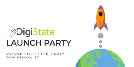 DigiState Launch Party tickets