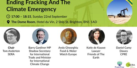 Ending fracking and the climate emergency tickets