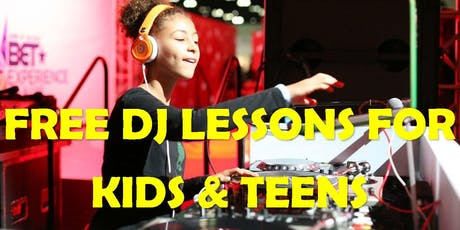 DJ Class - BEGINNER FALL 2019 for PRE-TEENS and TEENS ONLY (NO ADULTS) tickets