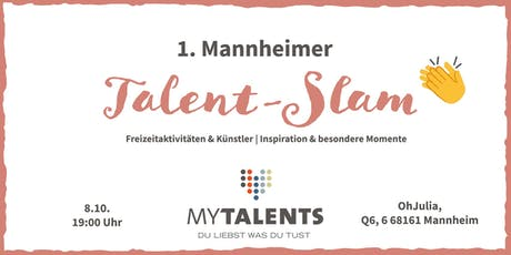 Talent-Slam | myTalents Tickets