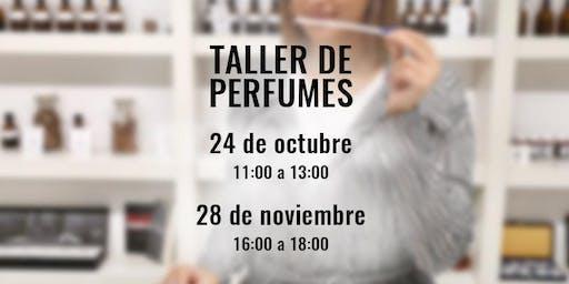 Taller de Perfumes y Cata Olfativa en la Academia del Perfume-28/11