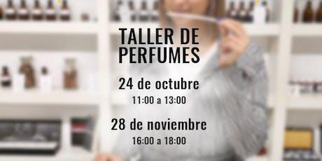 Taller de Perfumes y Cata Olfativa en la Academia del Perfume-24/10 entradas