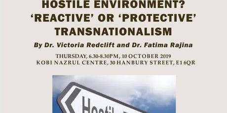 HOSTILE ENVIRONMENT? 'REACTIVE' OR 'PROTECTIVE' TRANSNATIONALISM tickets