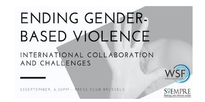Ending Gender-based Violence – International Collaboration and Challenges
