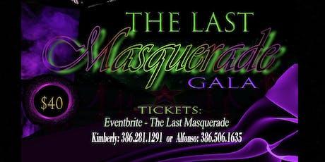 The Last Masquerade tickets