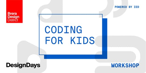 Coding for Kids - powered by IED