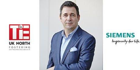 TiE Talk with Jurgen Maier CEO of Siemens UK tickets