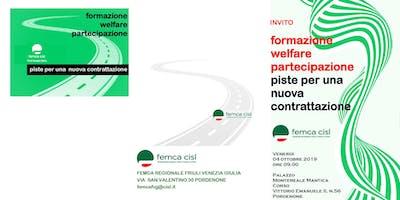 Formazione, welfare e partecipazione