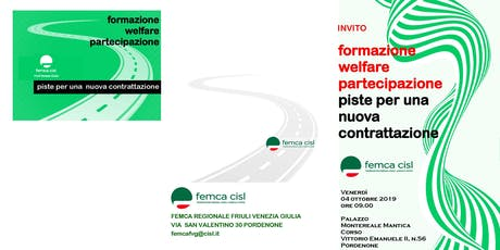Formazione, welfare e partecipazione tickets