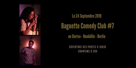 Baguette Comedy Club #7 Tickets