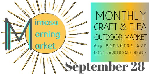 Mimosa Morning Market on Breakers Ave at The Plaza Bistro