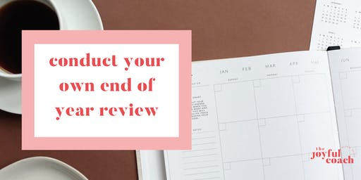 Conduct your own end of year review