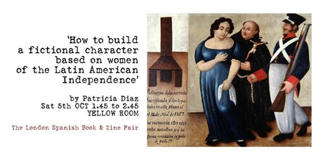 Build a fictional character based on women of Latinamerican Independence tickets
