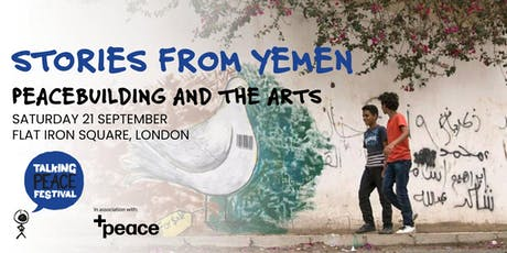 The power of stories: community peacebuilding and arts in Yemen tickets