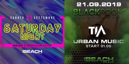 Reggaeton, Hip-hop & Trap Party - Saturday 21 September - The Beach Milano