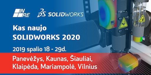 Kas naujo SOLIDWORKS 2020