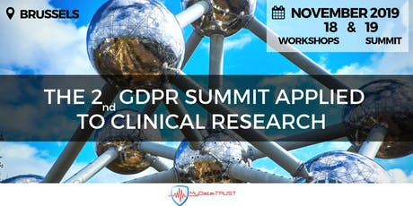 2nd GDPR SUMMIT applied to clinical research tickets