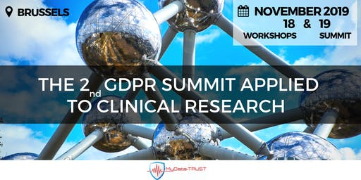 2nd GDPR SUMMIT applied to clinical research