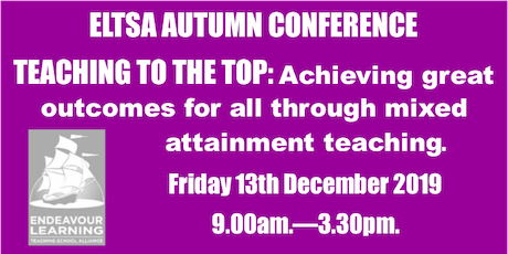 Teaching to the Top: ELTSA Autumn Conference tickets