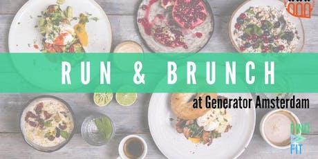 Run & Brunch at Generator Amsterdam tickets