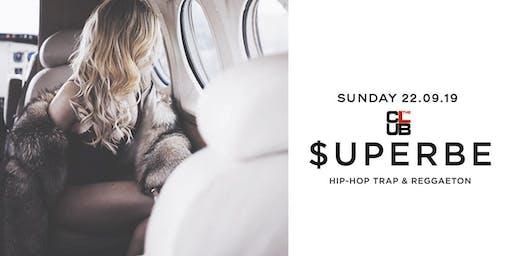 $UPERBE Hip hop, reggaeton & trap - Sunday 22 September - The Club Milano