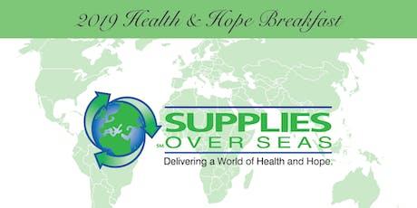 2019 Health & Hope Breakfast tickets