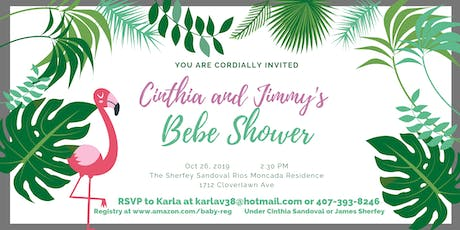 Cinthia and Jimmy's Bebe Shower tickets