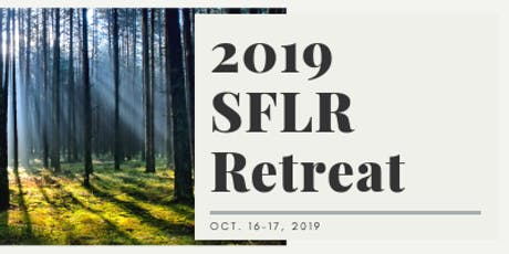 SFLR 2019 Annual Retreat tickets