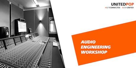 Workshop: Kako napraviti dobar kućni studio tickets